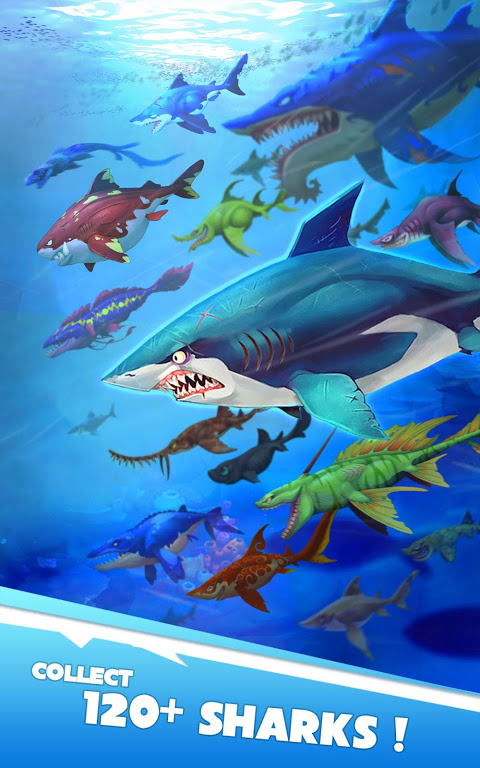 Android Hungry Shark Heroes Screen 7