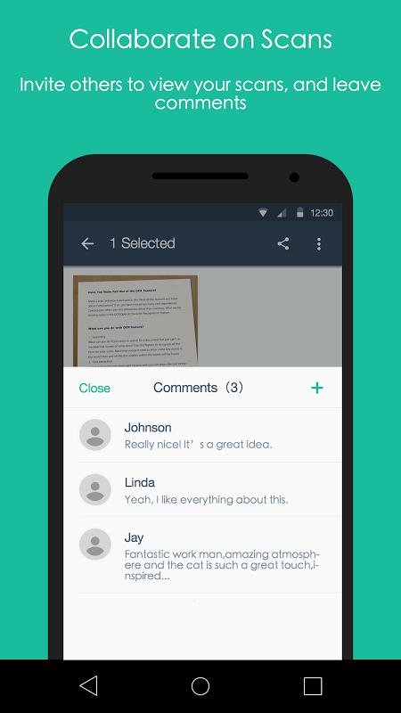 Android CamScanner -Phone PDF Creator Screen 4