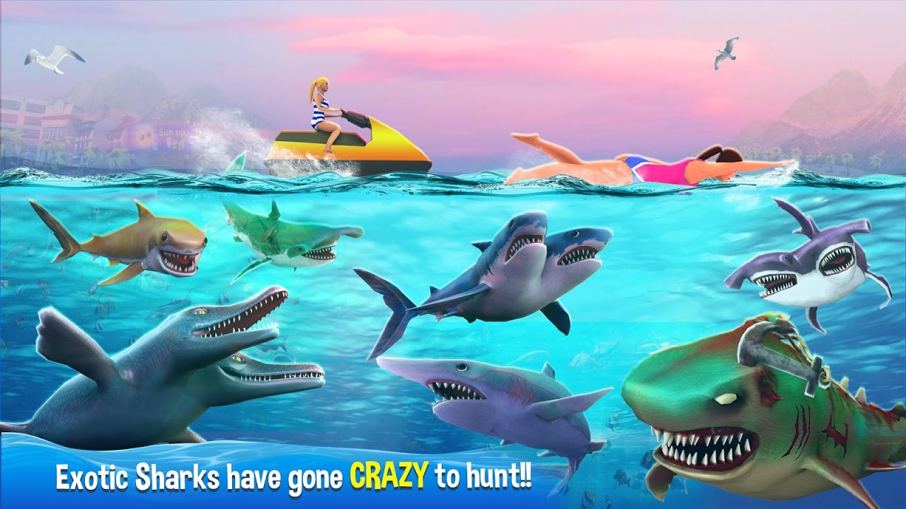 Double Head Shark Attack - Multiplayer 7.2c Screen 8