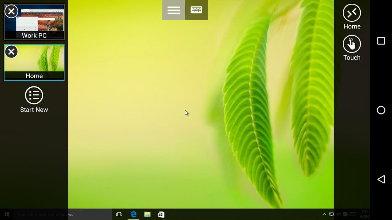 Microsoft Remote Desktop 8.1.50.255 Screen 1