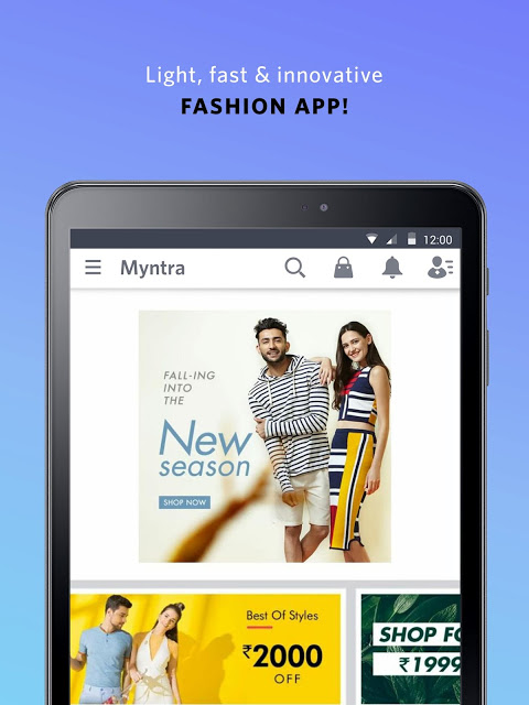 Android Myntra Online Shopping App Screen 15