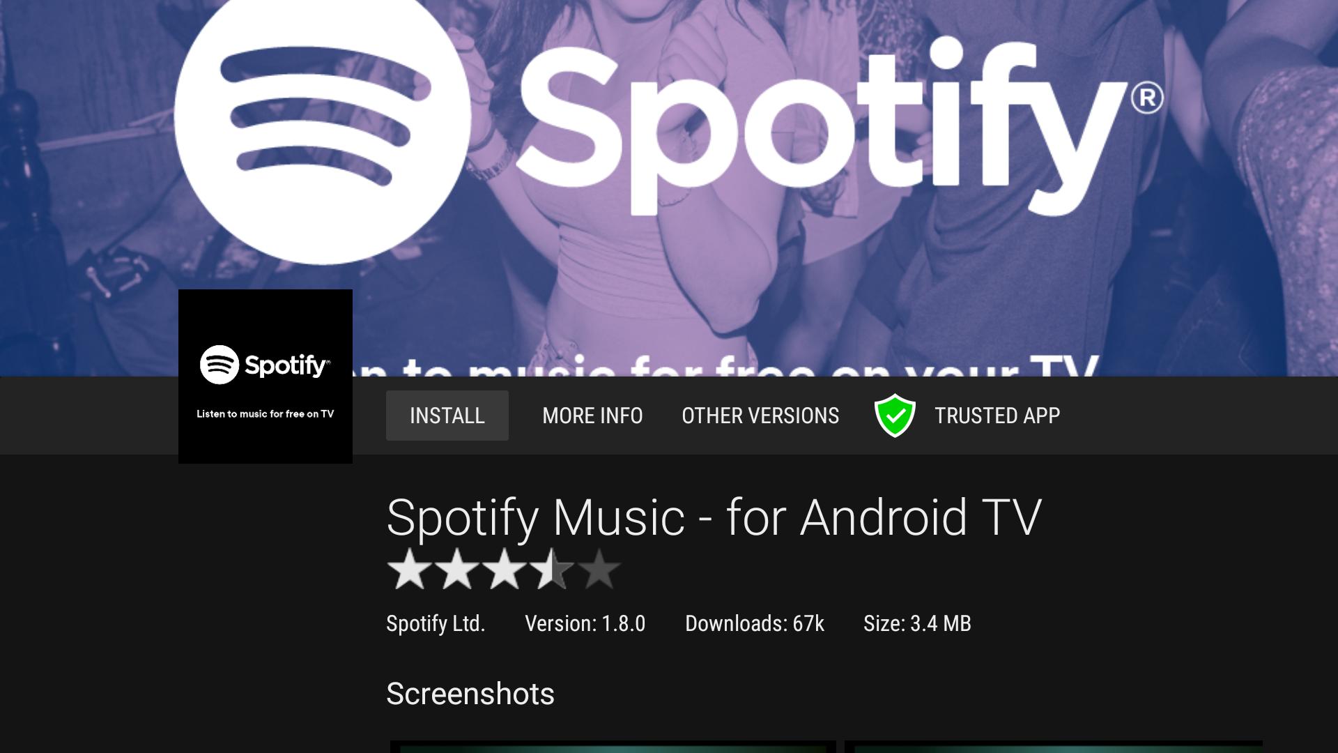 Aptoide TV 5.0.2 Screen 3