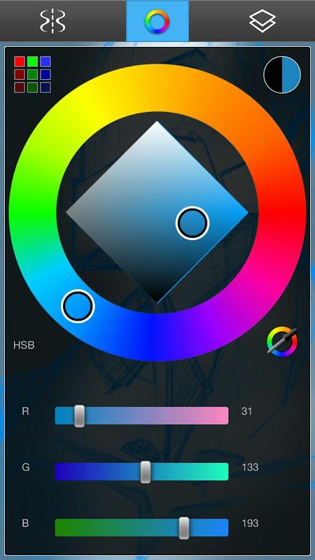 Android SketchBookX Screen 2
