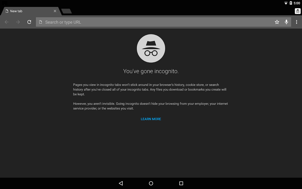 Android Chrome Dev Screen 12