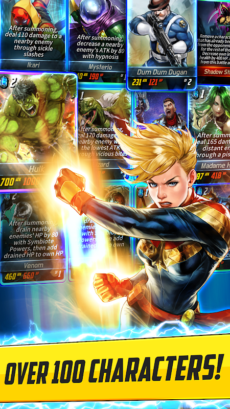 MARVEL Battle Lines 2.0.1 Screen 2