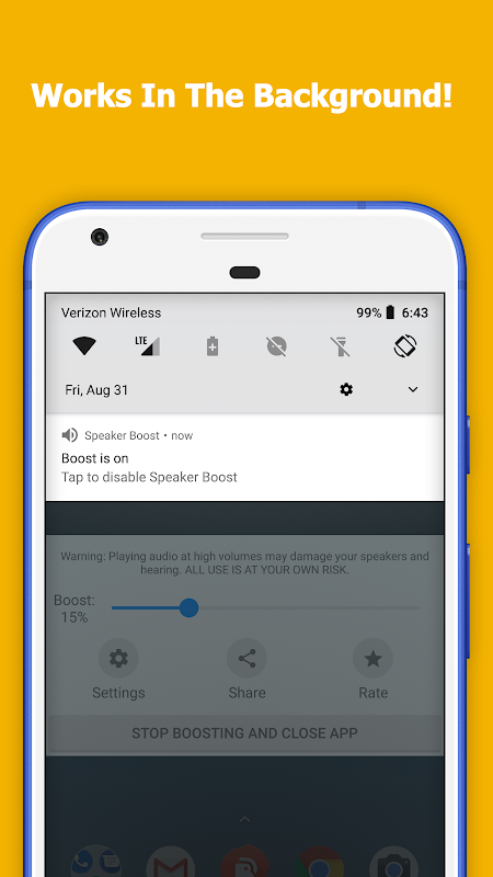 Speaker Boost - Volume Booster 3.0.8 Screen 1