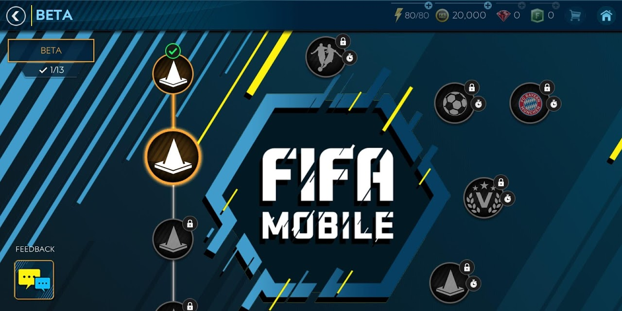 FIFA SOCCER:  GAMEPLAY BETA 11.1.00 Screen 1