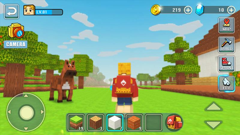 Android World Craft Building Screen 3