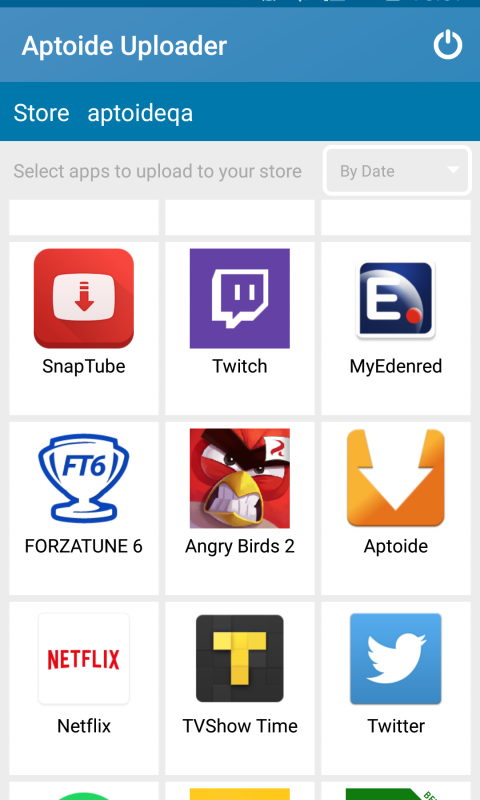 Aptoide Uploader 2.5 Screen 2