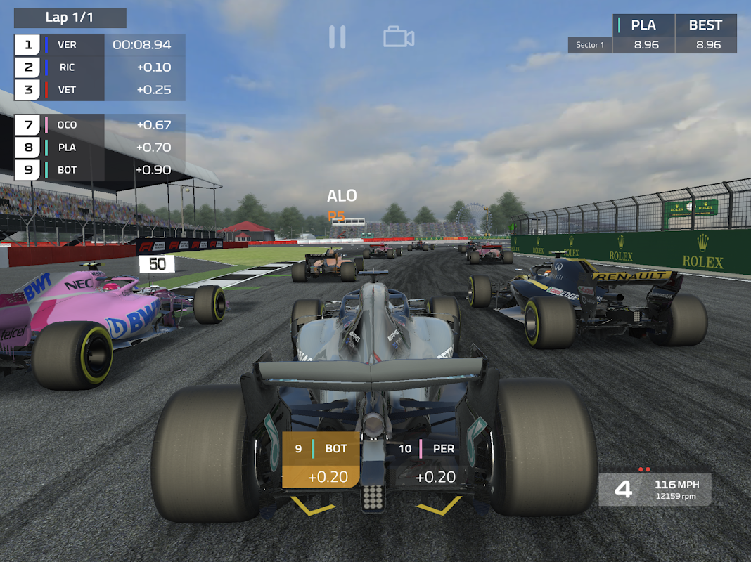 Android F1 Mobile Racing Screen 12