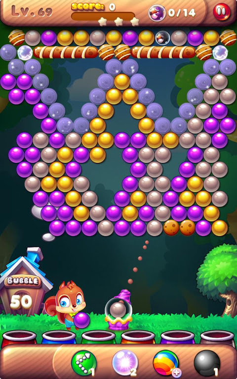 Android Bubble Bird Rescue 2 - Shoot! Screen 2