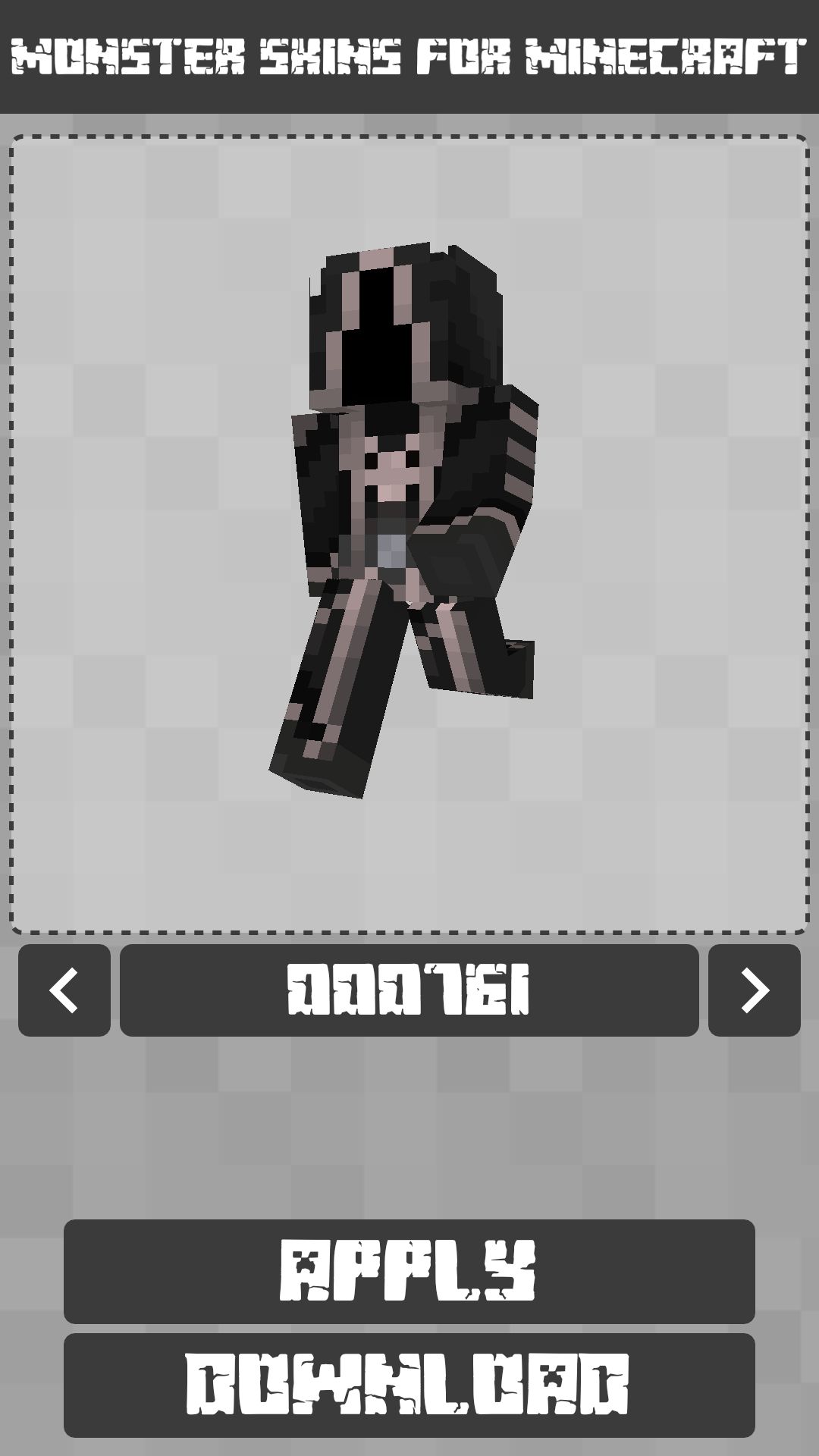 Android Monster Skins for Minecraft PE Screen 5