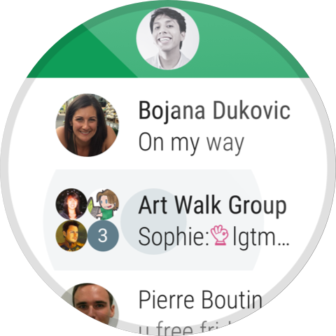 Android Hangouts Screen 6