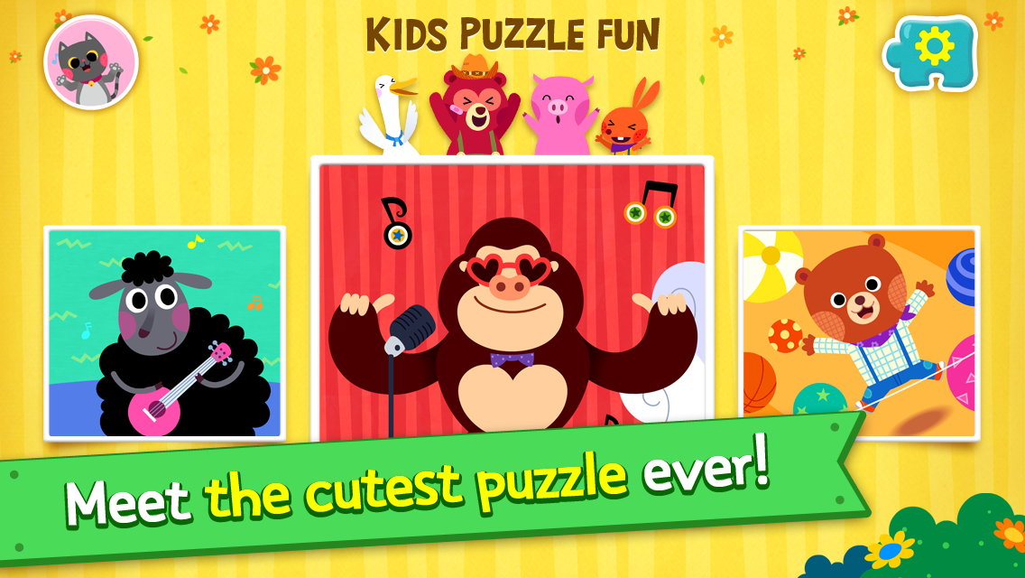 PINKFONG Kids Puzzle Fun 9 Screen 9