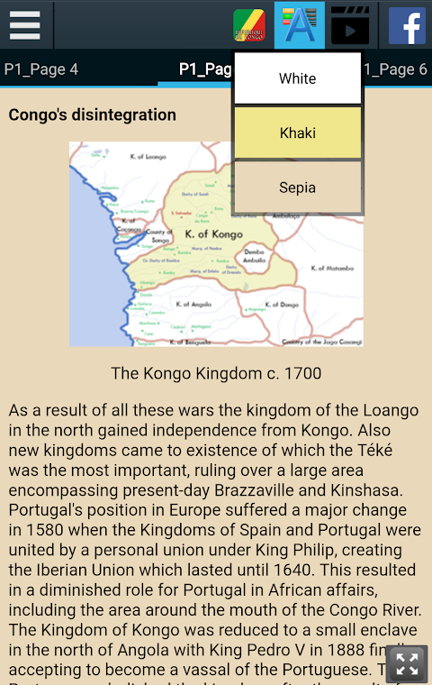 Android History of the Republic of the Congo Screen 4