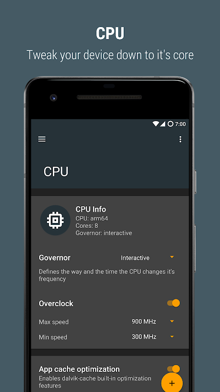 Androoster 1.3.11 Screen 1