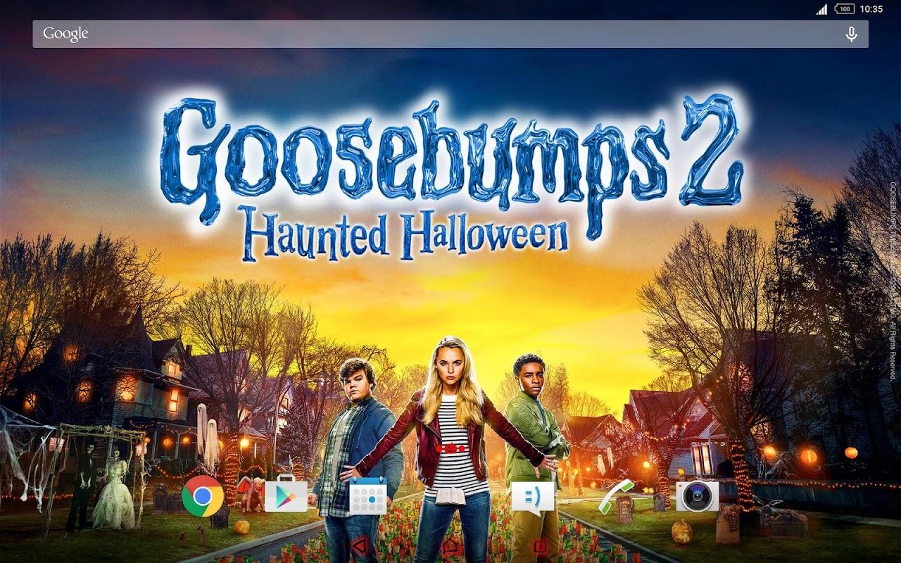 Android Xperia™ Goosebumps 2 Theme Screen 2