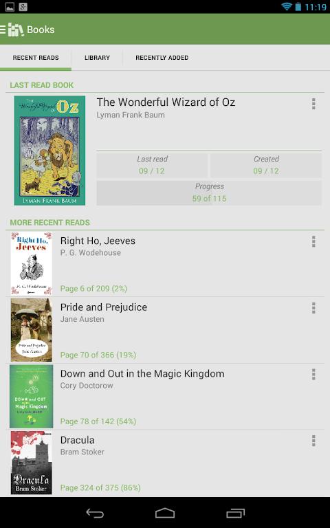 Aldiko Book Reader 3.1.3 Screen 11