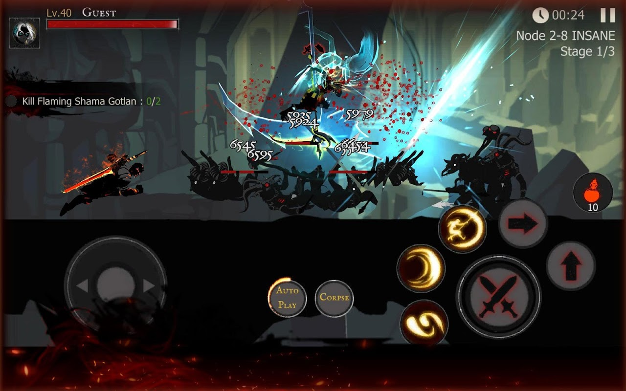 Shadow of Death: Dark Knight - Stickman Fighting 1.42.0.3 Screen 8