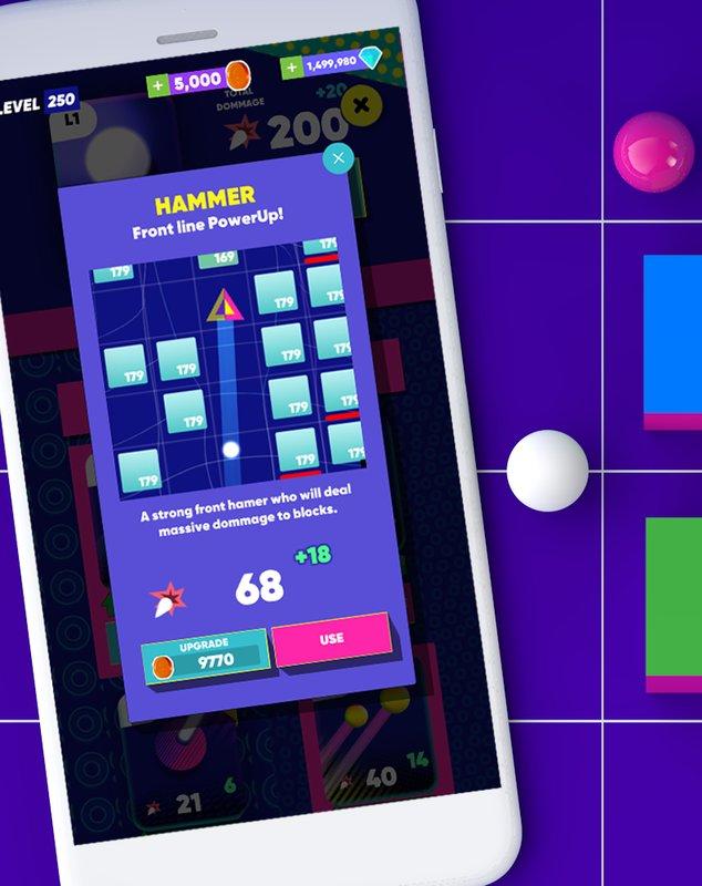 Android Super Brick Breaker Ball Screen 2