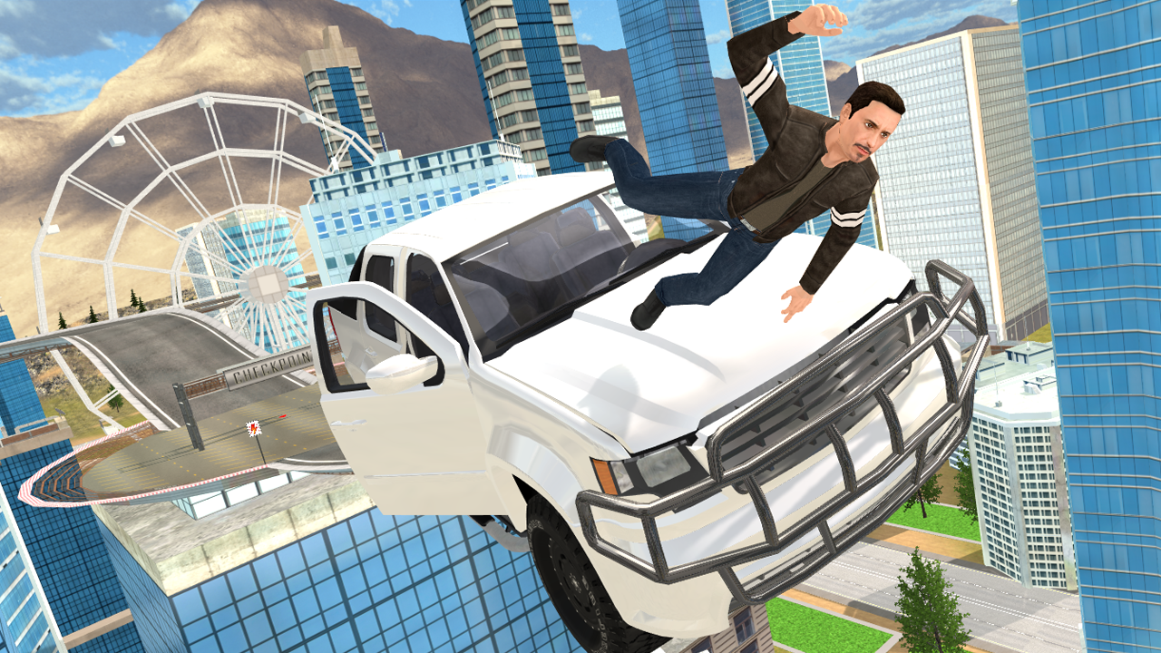 Android Smash Car Hit - Impossible Stunt Screen 1