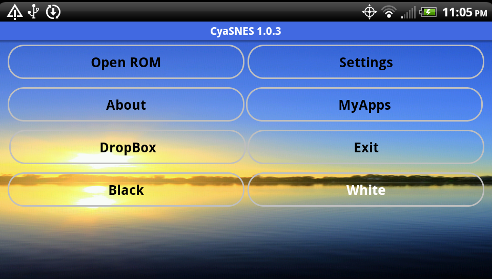 CyaSNES Lite (SNES Emulator) 1.0.5 Screen 2