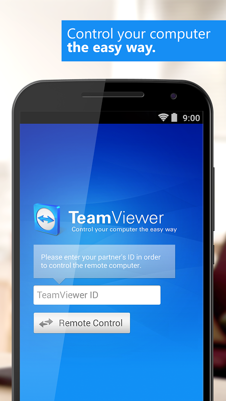 Android TeamViewer Screen 3