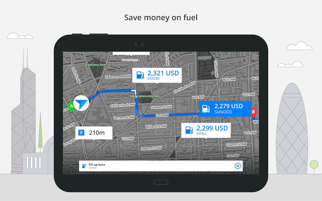 GPS Navigation & Maps Sygic 18.4.2 Screen 7