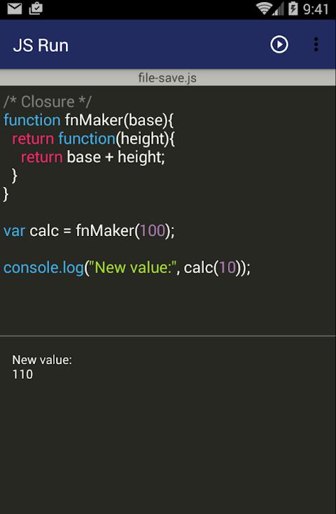 JS Run (Javascript editor) APKs | Android APK