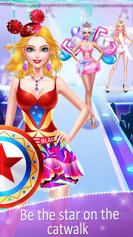Android Girl's Secret - Princess Salon Screen 2