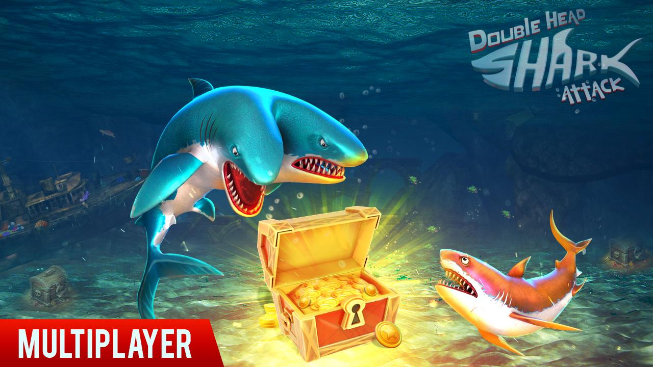 Double Head Shark Attack - Multiplayer 7.2c Screen 2