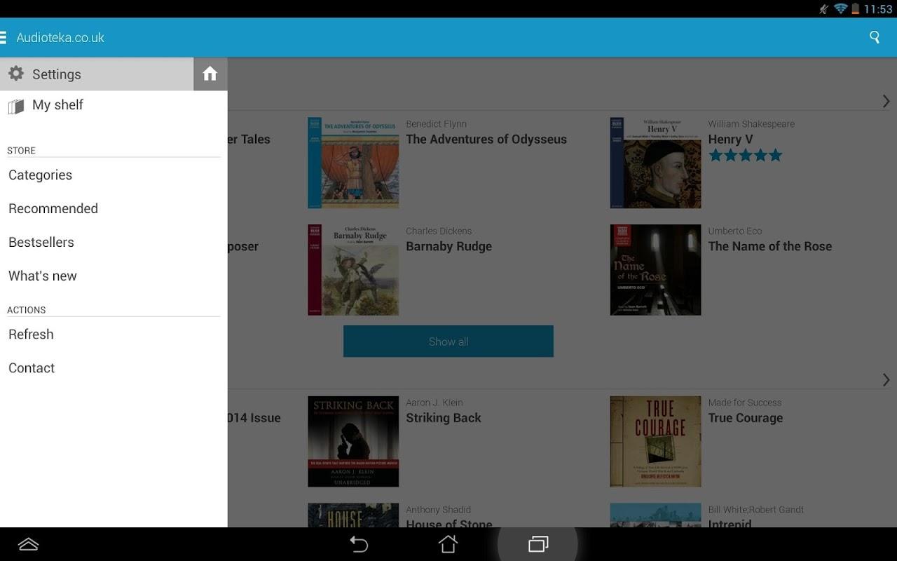 Audioteka 2.4.6 Screen 1
