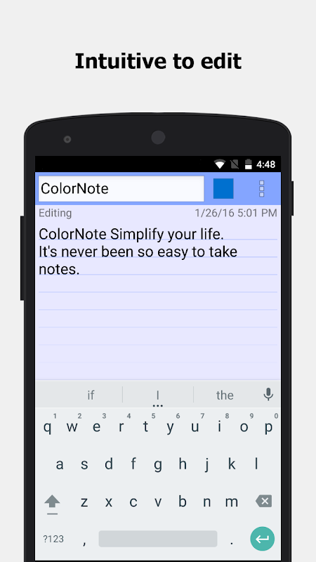 ColorNote Notepad Notes To do 4.1.0 Screen 5