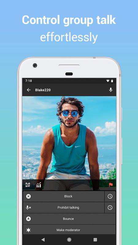 Zello PTT Walkie Talkie 4.62 Screen 5
