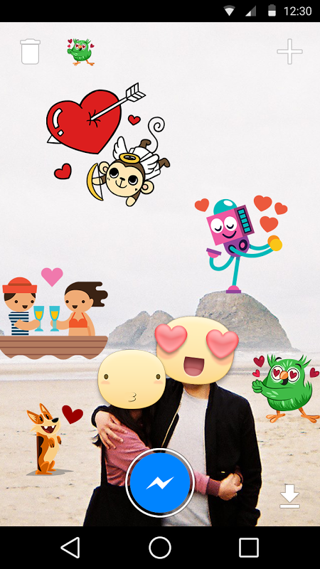 Android Stickered for Messenger Screen 2
