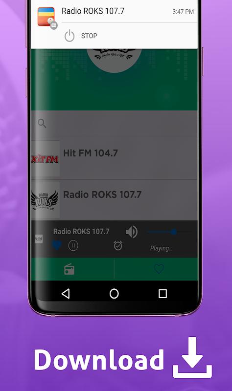 Android Free Ukraine Radio AM FM Screen 7