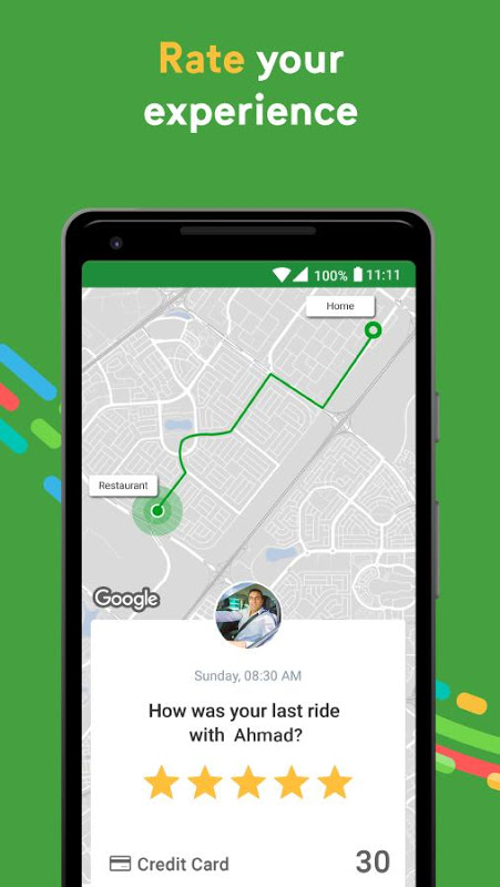 Android Careem - Car Booking App Screen 6