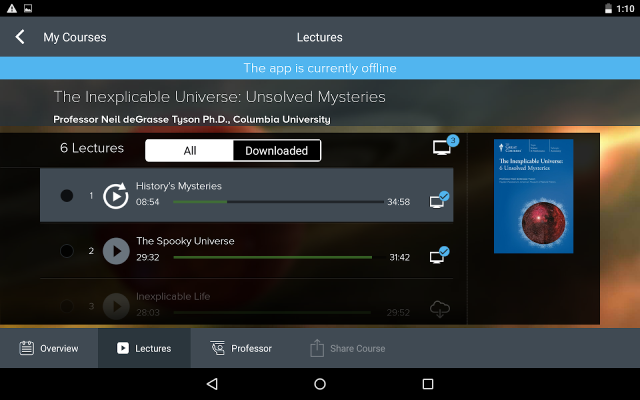The Great Courses 5.2.4 Screen 15