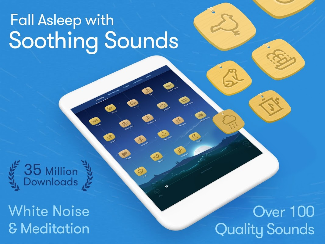 Android Relax Melodies: Sleep Sounds Screen 3