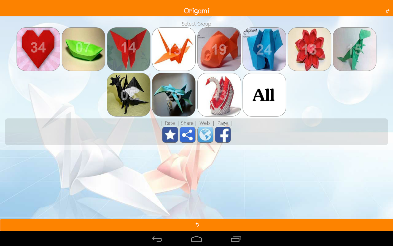 Android Origami Master (Paper Folding) Screen 4