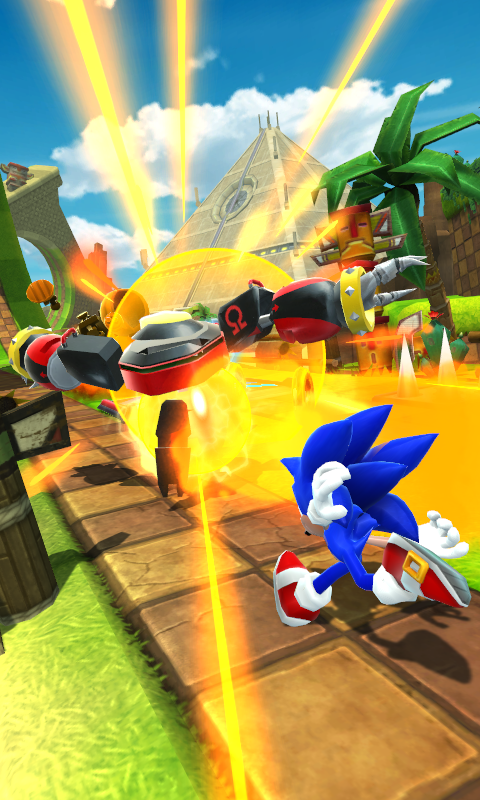 Android Sonic Forces: Speed Battle Screen 4