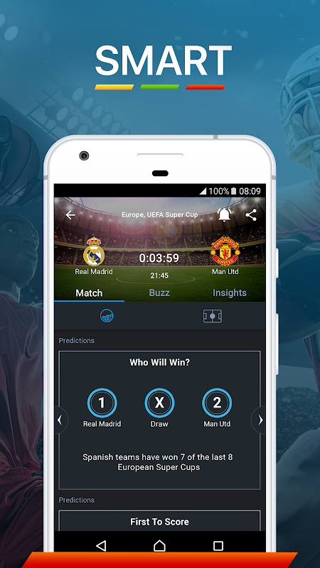 365Scores: Sports Scores Live 5.1.3 Screen 6