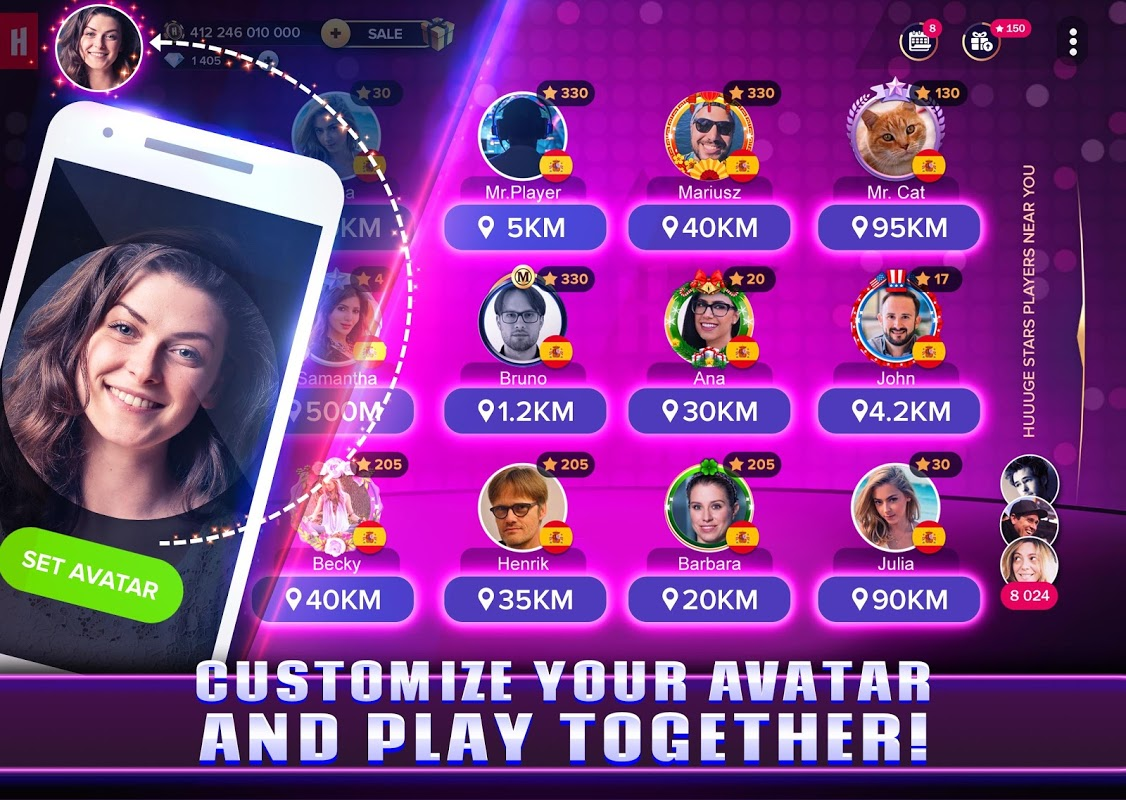 Android Huuuge Stars™ Slots Casino Games Screen 5