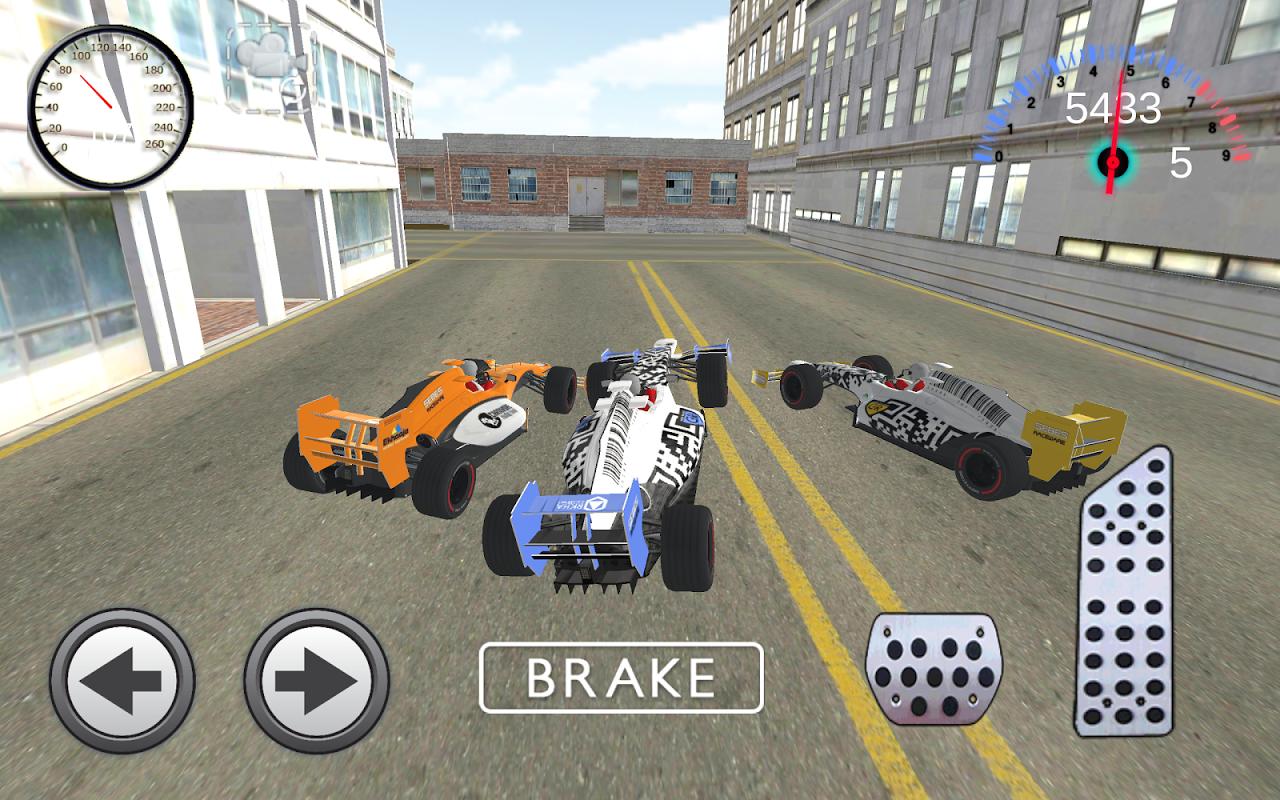 Real F1 Racing Game Simulator 1.01 Screen 1