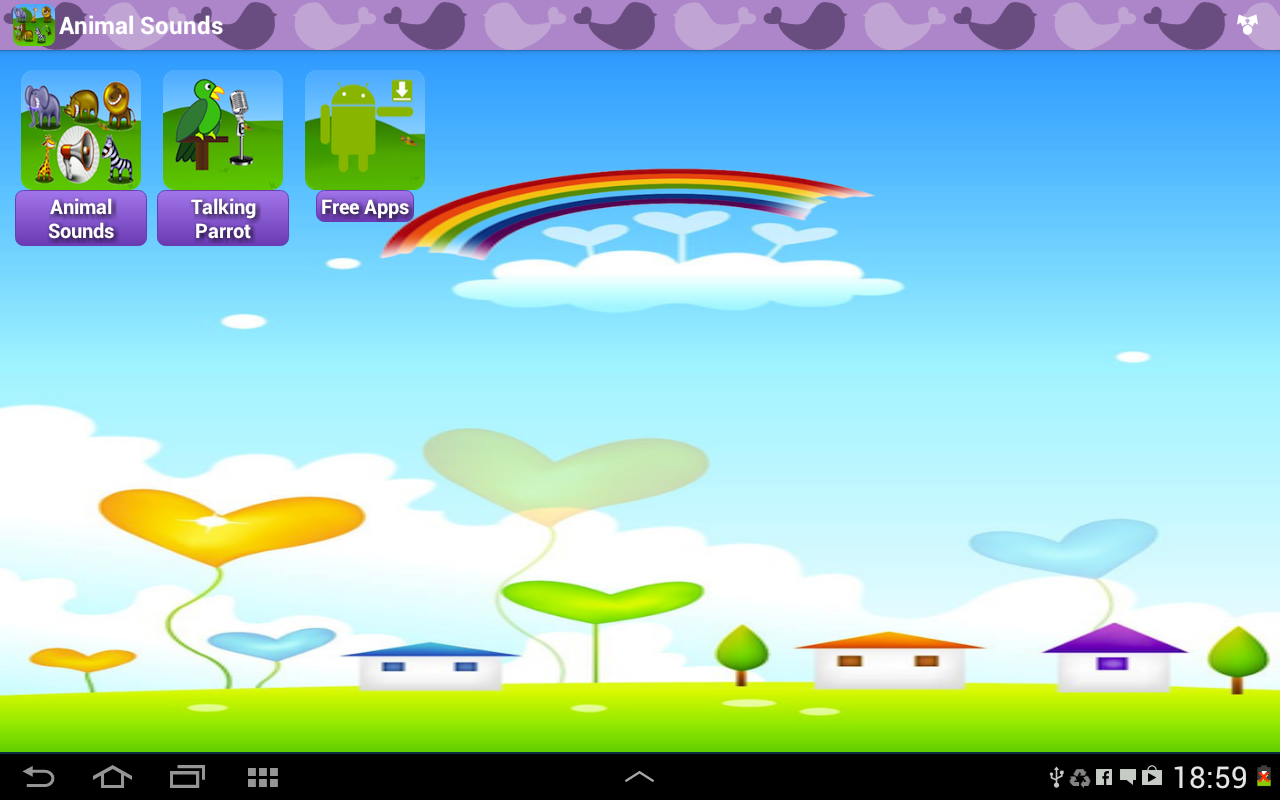 Android Animal Sounds & Talking Parrot Screen 6