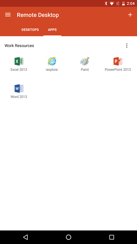 Microsoft Remote Desktop 8.1.50.255 Screen 3