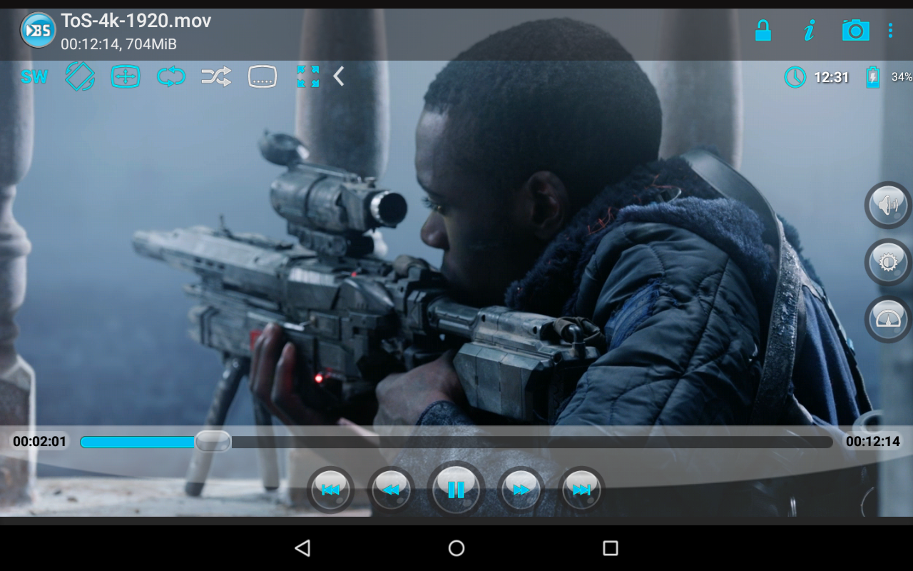 Android BSPlayer Screen 9