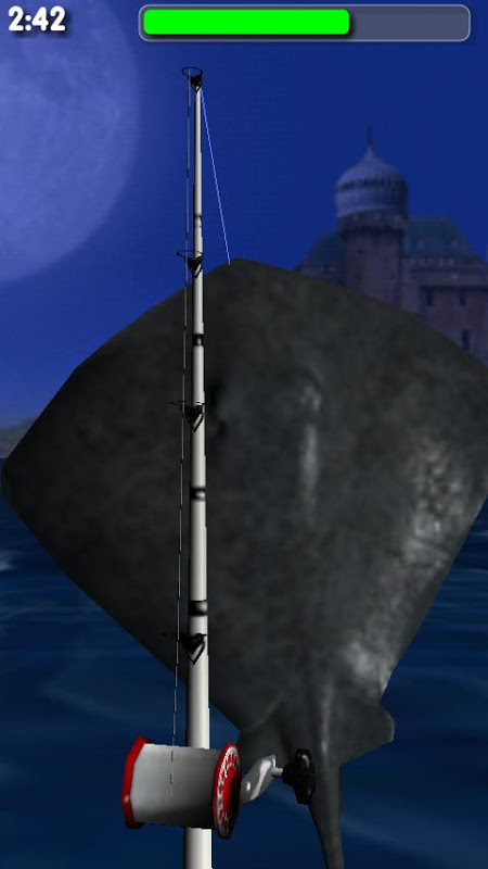 Android Big Night Fishing 3D Screen 3