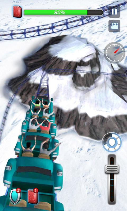 Roller Coaster 3D 1.0.3 Screen 3