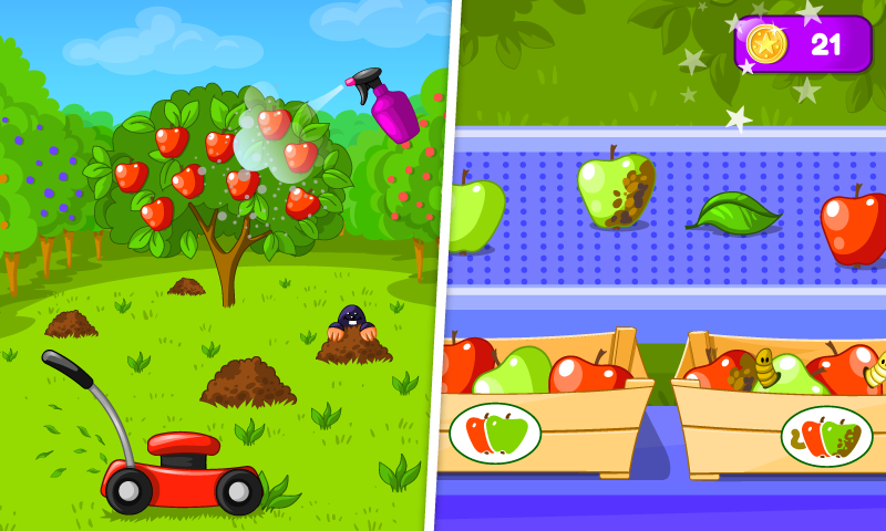 Garden Game for Kids 1.03 Screen 1